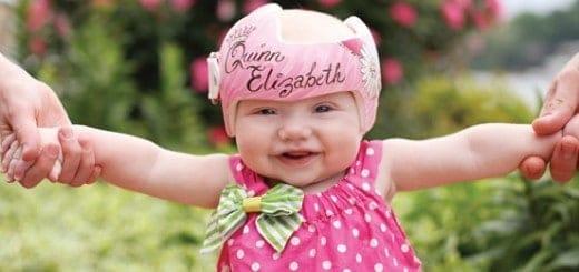flat head baby helmet