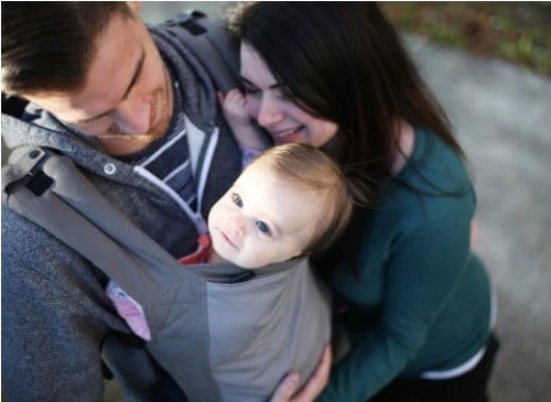Dad baby carrier kids saver network for Daddy carrier