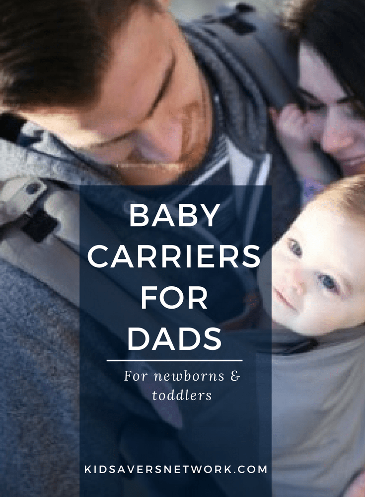 Baby Carriers are a great way for Dads to bond with their newborn babies & help carry the load. Check out the best baby carriers for newborns to toddlers.