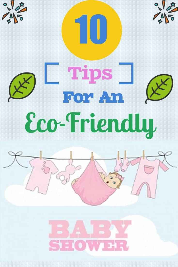 Want to throw an Eco-friendly baby shower, but don't know how? Our 10 tips for invites, gifts, games & activities will help make a great green baby shower!