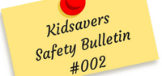 Kidsavers Weekly Safety Bulletin 2