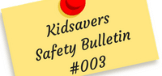 Kidsavers Safety Bulletin 3