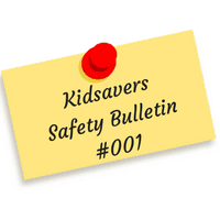 Kidsavers Weekly Safety Bulletin