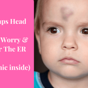 Baby Bumps Head – When To Worry & Head For The ER (+ Infographic)
