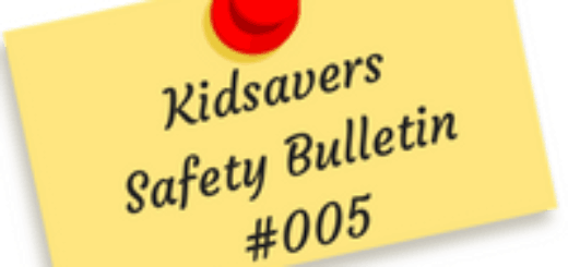 Kidsavers Weekly Safety Bulletin 5